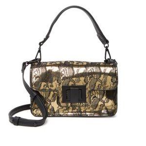 NWT! Steve Madden Metallic Lace Crossbody Bag
